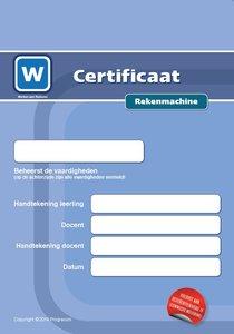 1F Certificaat Rekenmachine