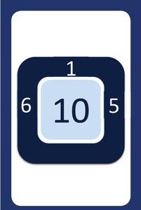 Kaartspel Cijferen t/m 12 en Cijferen t/m 20