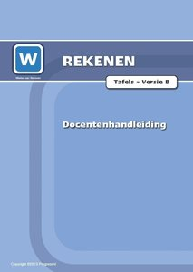 1F - Tafels - Toets B - Docentenhandleiding