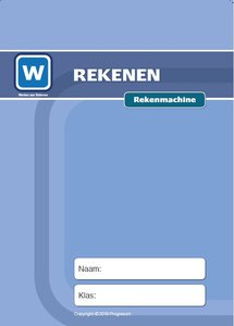 1F Lesmateriaal Rekenmachine ( wire-o)